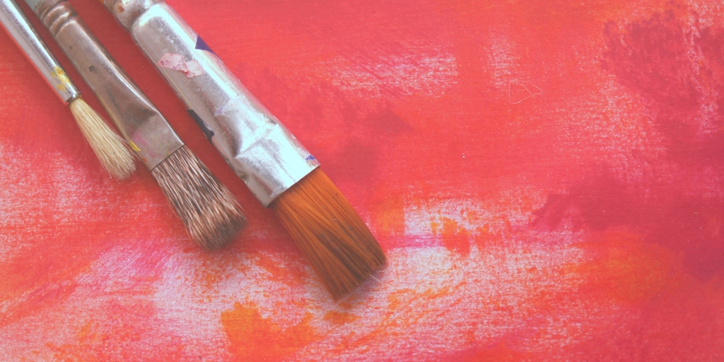 I Paint Red - Flash Fiction by Sally Doherty